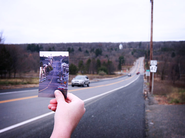 Centralia then and now from 2010. Credit: theharlemline.com/Emily