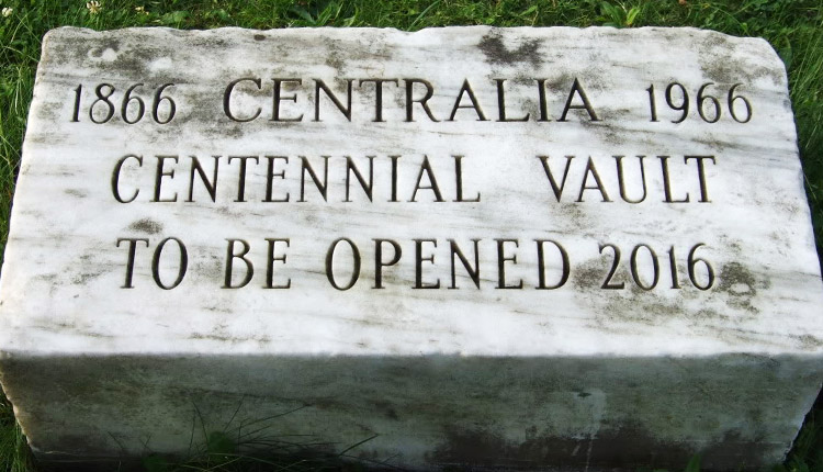 Centralia Pa Time Capsule To Be Opened In 2016