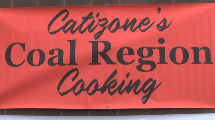 Catizone's Coal Region Cooking provided a free hot lunch to all of the volunteers who attended the cleanup event in Centralia.
