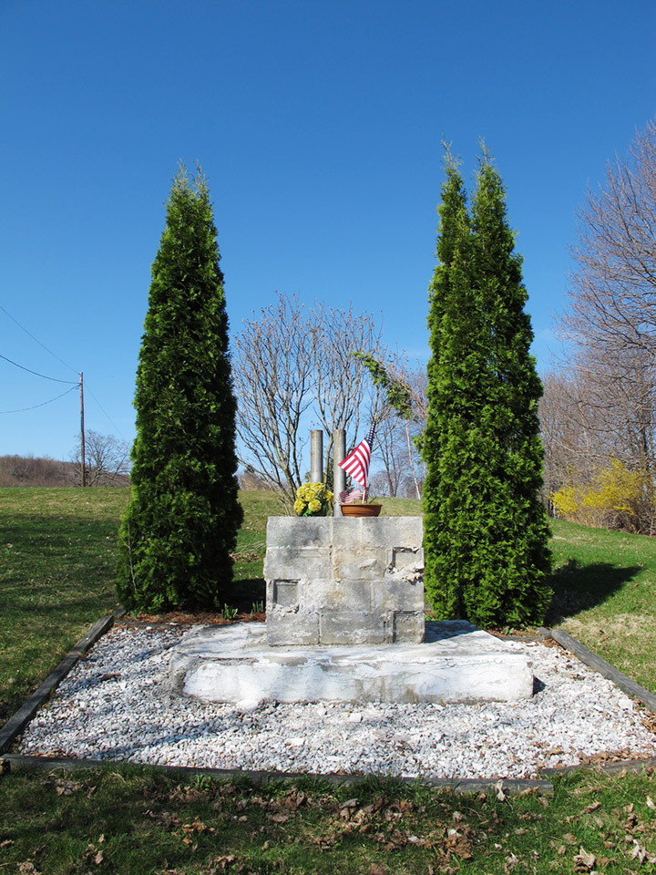 Veterans' Memorial in Centralia Pennsylvania 2010