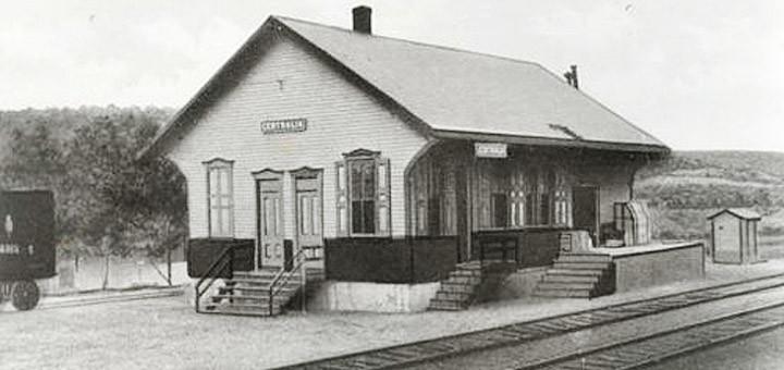 Centralia S Railroad Station