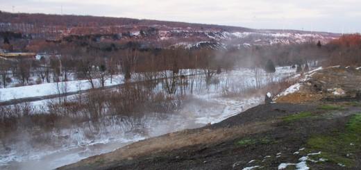Centralia Pennsylvania Burn Zone North East