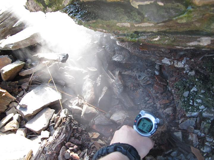 Centralia Mine Fire Steam Temperature