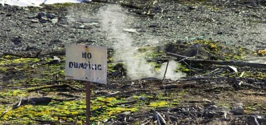 Centralia Pennsylvania No Dumping Steam