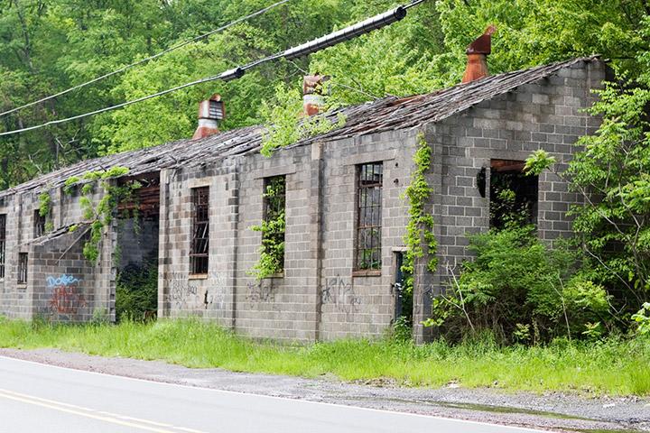 Byrnesville PA Mine Wash House