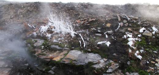 Centralia PA Snow Ice Steam Burn Zone