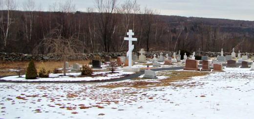 Centralia PA Cemetery Winter