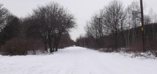 Centralia PA Snowy Street