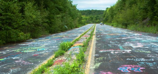 Centralia Pennsylvania Graffiti Highway