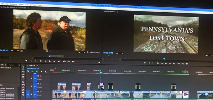 Centralia PA Documentary Editing