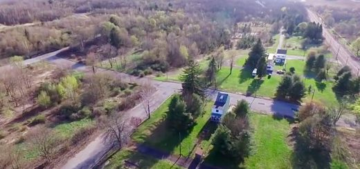 Centralia Pennsylvania Drone Video