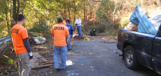 Centralia Pennsylvania Cleanup Trash