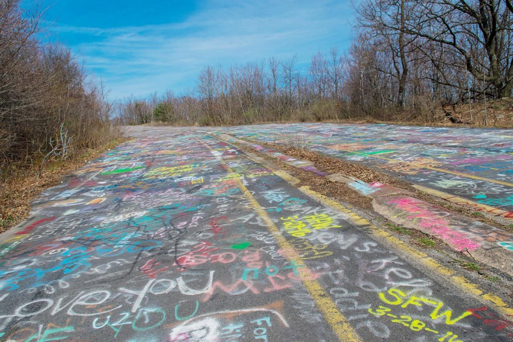 Graffiti Highway Centralia PA
