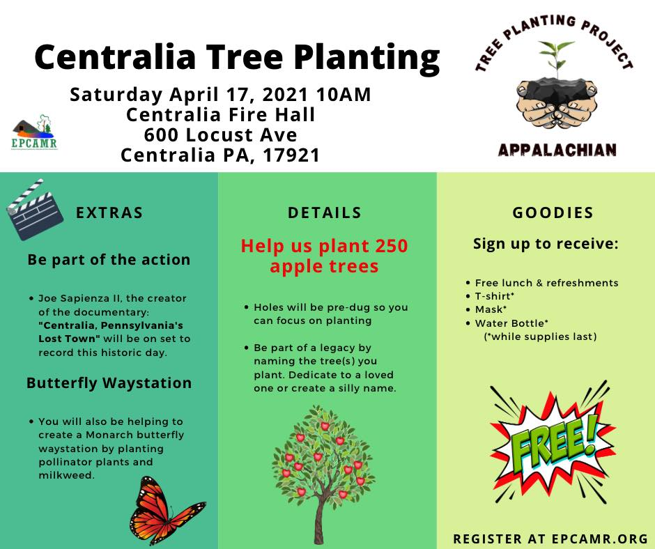 Centralia Apple Tree Planting 2021